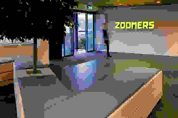 Entree Verzamelkantoor Zoomers Industriële kantoorgebouwen van All-In Living Industrieel