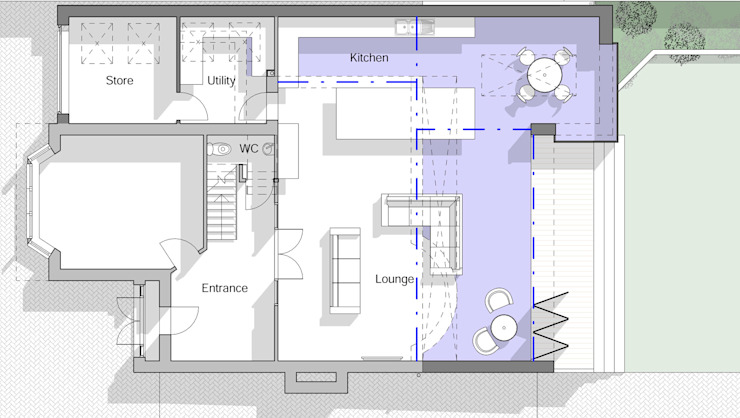 Ground Floor Plan homify