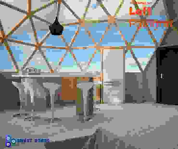 loft patagon smart domos Dormitorios de estilo moderno
