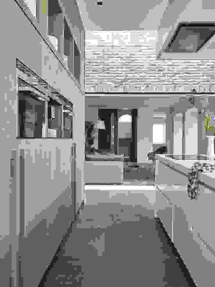 Monument aan de waterkant – vergunningsvrije uitbreiding Moderne keukens van ENZO architectuur & interieur Modern