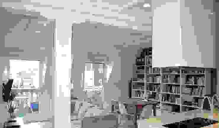 Salas de estar escandinavas por EKIDAZU Escandinavo