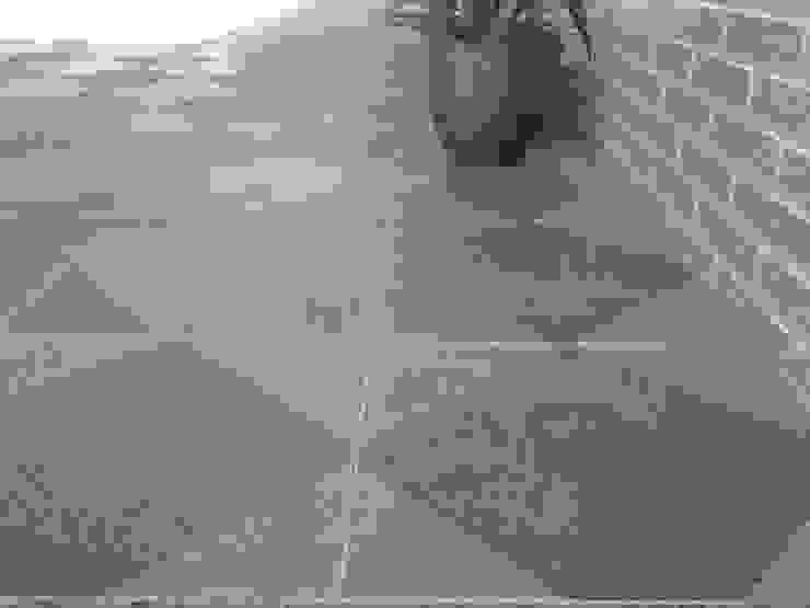 Pedra Mono K, Mix Paredes e pisos modernos por Amop Moderno