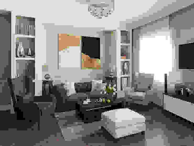 Salon de style  par Alyona Musina, Moderne