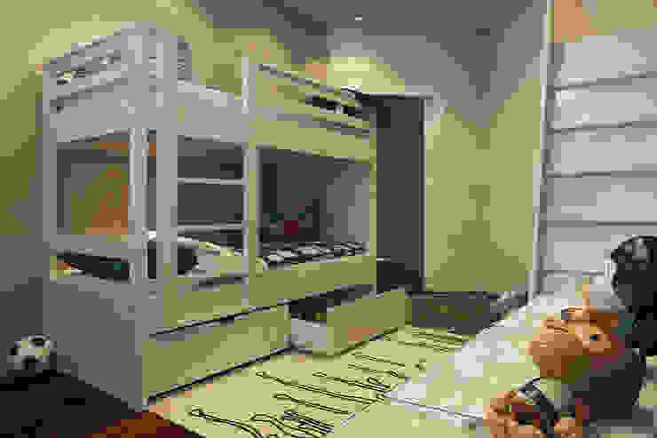 Projekty,  Pokój dziecięcy zaprojektowane przez Alyona Musina, Minimalistyczny