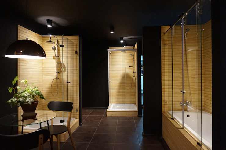 Showroom Cristales de KRAUSE CHAVARRI Moderno