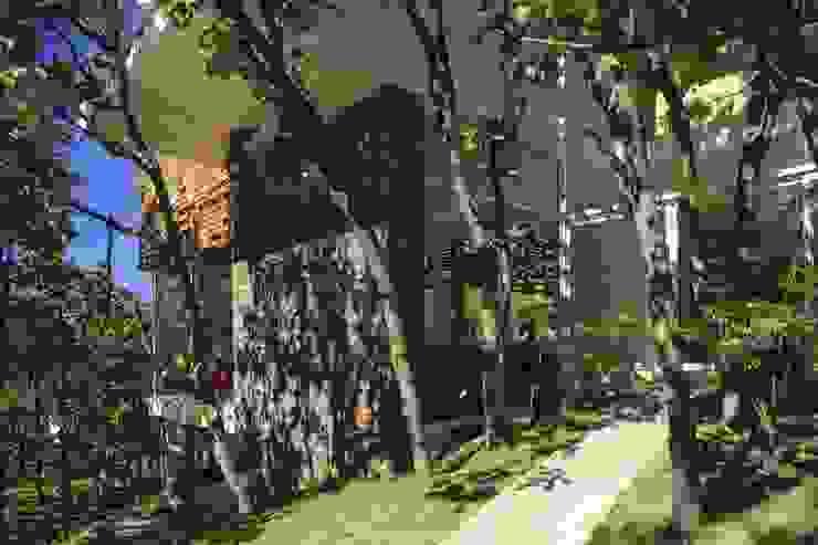 Exterior fachada casa Azpeytia Casas de estilo minimalista de Echauri Morales Arquitectos Minimalista Caliza