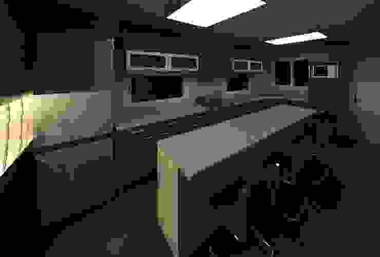 MMO Maximiliano José Castrillo Modern Kitchen