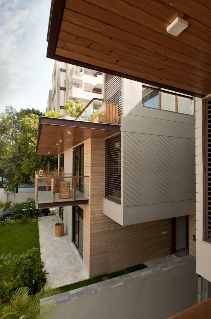 Ahaan Villa—Ahmedabad OPENIDEAS Modern houses