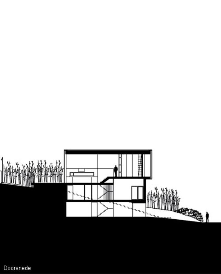 Modern houses by bv Mathieu Bruls architect Modern