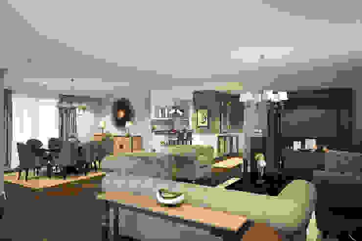 M&E TEKİNTAŞ HOME Klasik Oturma Odası yücel partners Klasik