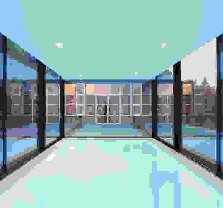 Poolhouse Maastricht Moderne zwembaden van bv Mathieu Bruls architect Modern