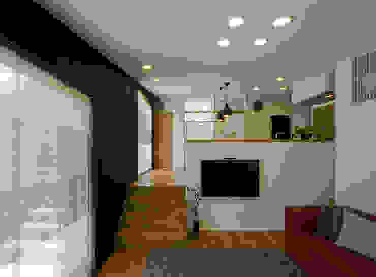 LIC・山本建築設計事務所의  거실