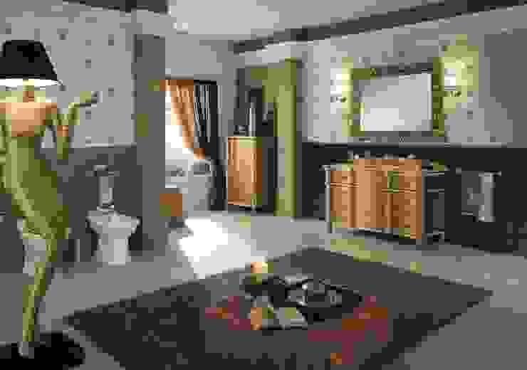 كلاسيكي  تنفيذ BAGNO PIU' ITALIA, كلاسيكي خشب Wood effect