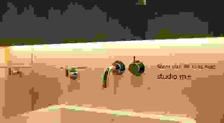 Bathroom by studio m+ by masato fujii,