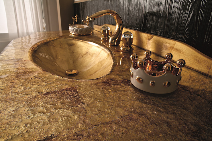 BAGNO PIU' ITALIA BathroomSeating Amber/Gold