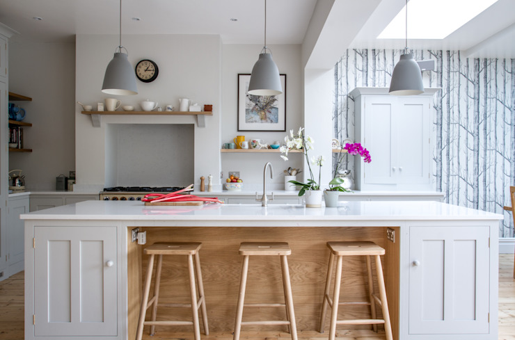 Scandinavian style kitchen by homify Scandinavian Wood Wood effect
