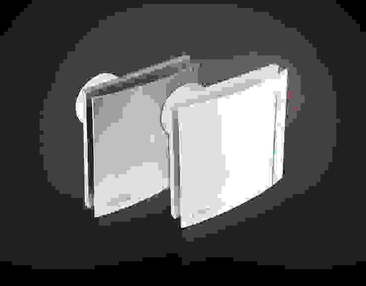 Silent 100 Design Swaroski Soler & Palau Bagno moderno Plastica Metallizzato/Argento