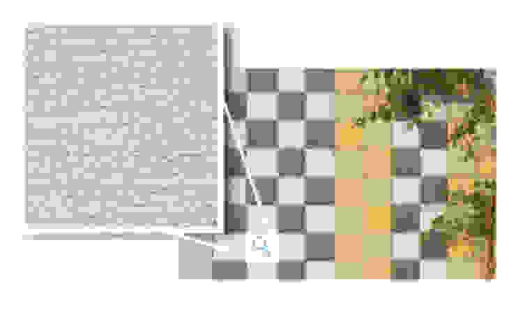 Mosaikus, Cinza Claro Paredes e pisos modernos por Amop Moderno