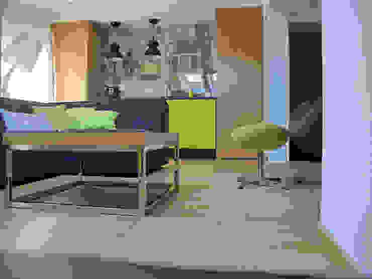 Salon industriel par Projekt Kolektyw Sp. z o.o. Industriel