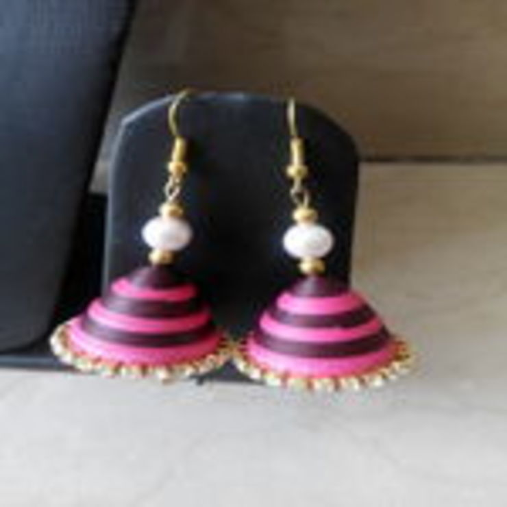 Quelling Earrings: classic  by Alyth Creations,Classic
