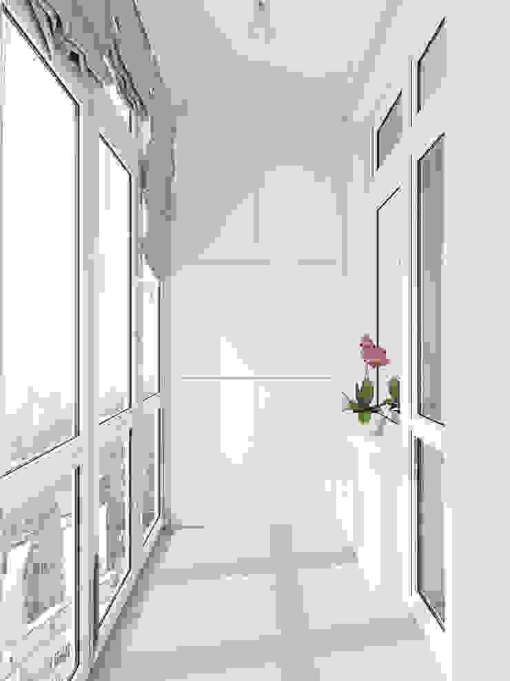 Classic style balcony, porch & terrace by Tatiana Zaitseva Design Studio Classic