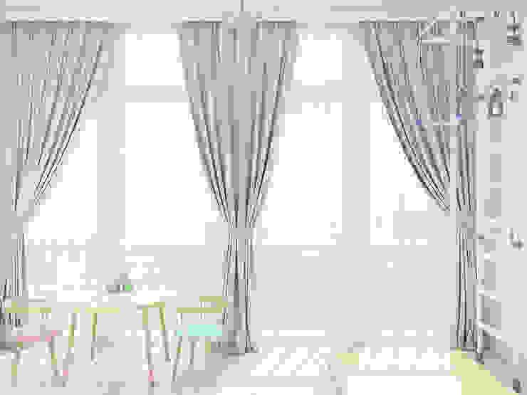 Нежный классический интерьер Балкон и терраса в классическом стиле от Tatiana Zaitseva Design Studio Классический