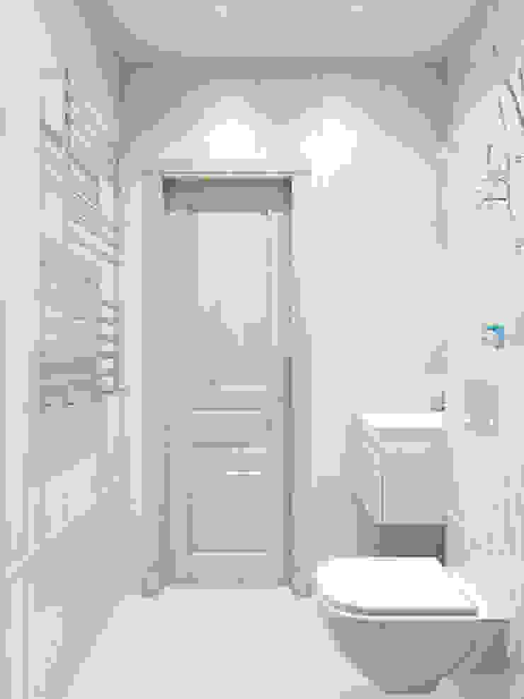 Baños de estilo clásico de Tatiana Zaitseva Design Studio Clásico