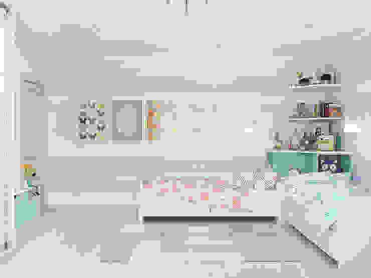 Chambre d'enfant classique par Tatiana Zaitseva Design Studio Classique