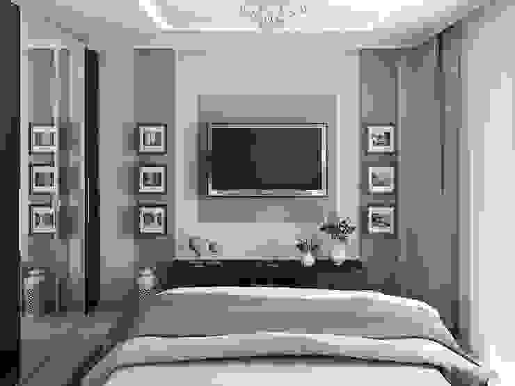 Chambre classique par Tatiana Zaitseva Design Studio Classique