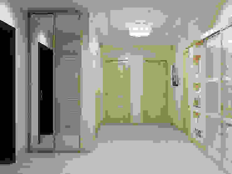Pasillos, vestíbulos y escaleras de estilo clásico de Tatiana Zaitseva Design Studio Clásico
