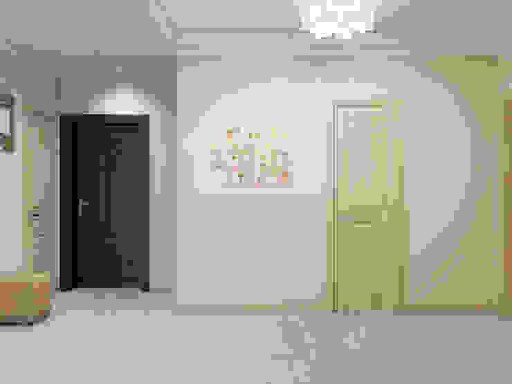 Couloir, entrée, escaliers classiques par Tatiana Zaitseva Design Studio Classique