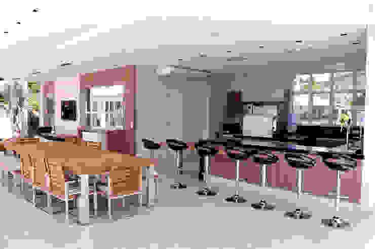 Espaço Gourmet Cozinhas modernas por A/ZERO Arquitetura Moderno