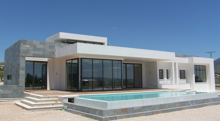 Casas modernas de FRAMASA- Dyov Studio 653773806 Moderno Madera Acabado en madera