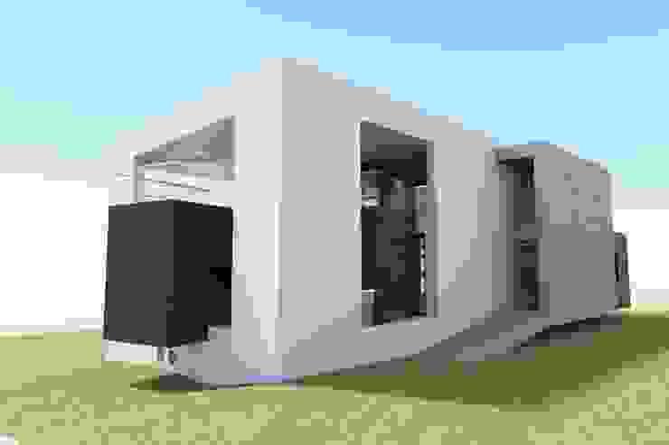 I.T. Casas de estilo moderno de Framasa- Dyov 676 611 315 Moderno Madera Acabado en madera