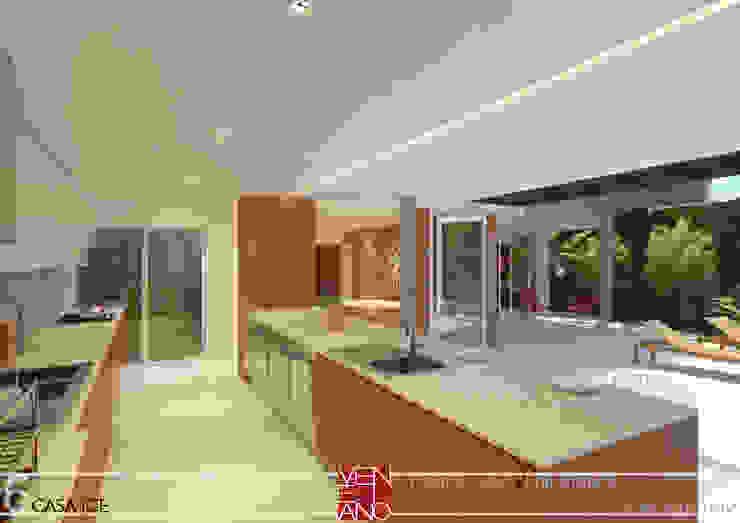 Modern kitchen by STUDIO LUIZ VENEZIANO Modern