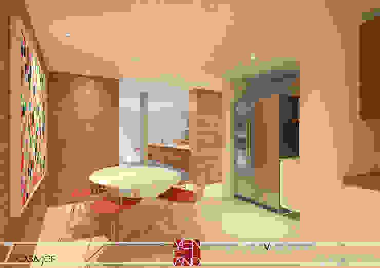 COPA E COZINHA Cozinhas modernas por STUDIO LUIZ VENEZIANO Moderno