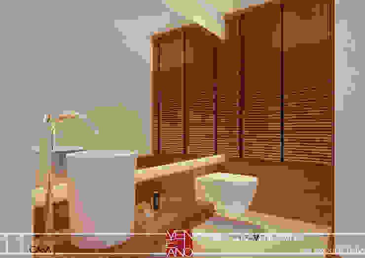 LAVABO STUDIO LUIZ VENEZIANO Banheiros modernos