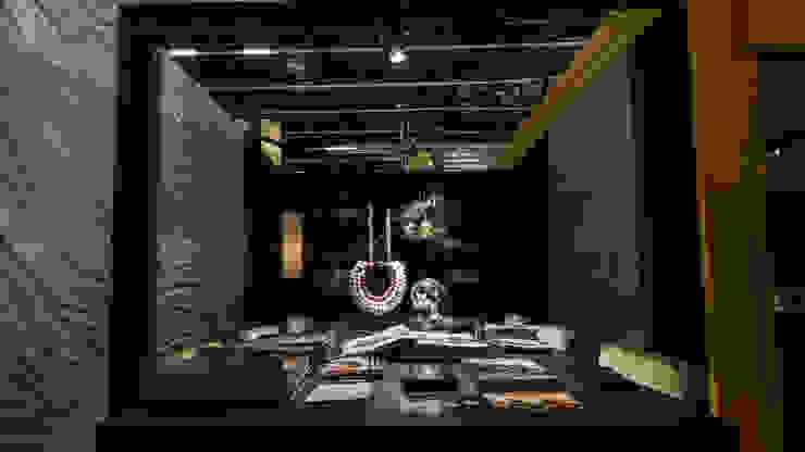 Wonen en Co Cinema Beurs Eclectische woonkamers van DUIN INTERIOR Eclectisch Koper / Brons / Messing