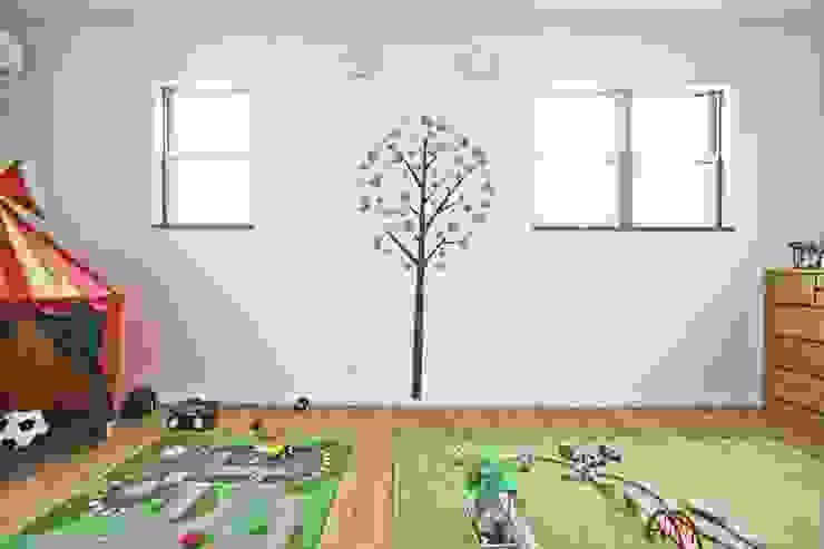 Recámaras infantiles de estilo  por ジャストの家, Moderno