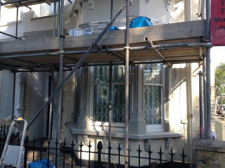 Exterior house painting, Clapham Common by The Hamilton Group