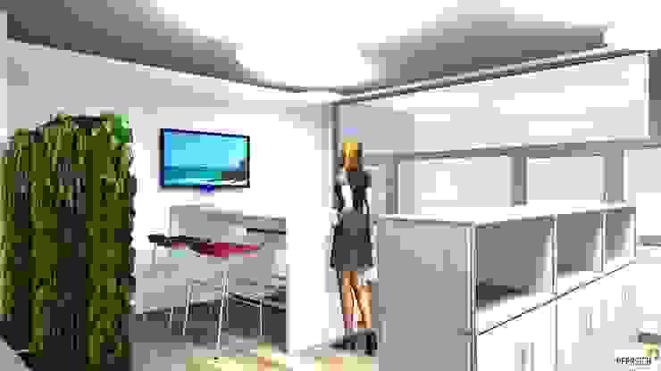 PFERSICH Büroeinrichtungen GmbH Edificios de oficinas de estilo moderno