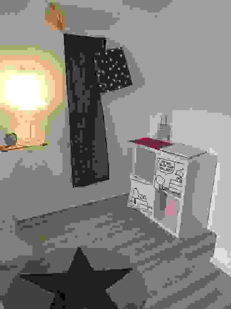 Münchner home staging Agentur GESCHKA Modern Kid's Room White