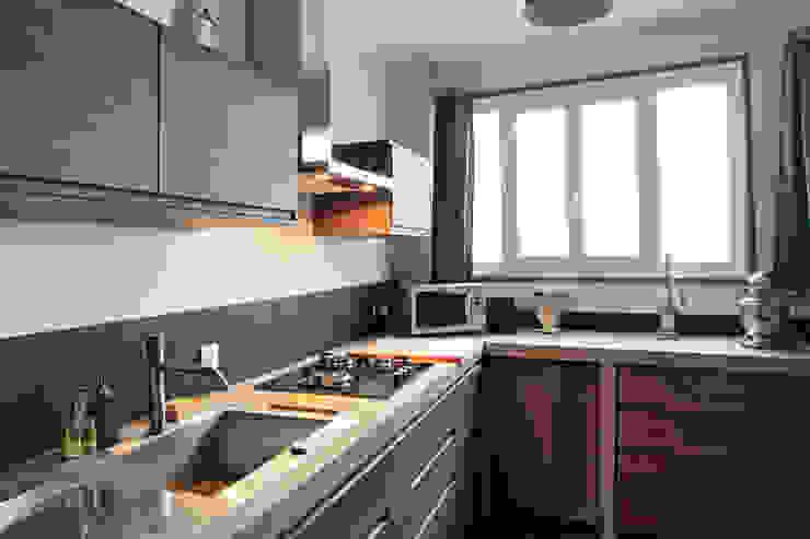 Rosny Concrete LCDA Кухня Бетон Сірий