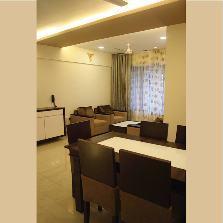 A Quick Make Over....!!!! Classic style dining room by Neha Changwani Classic