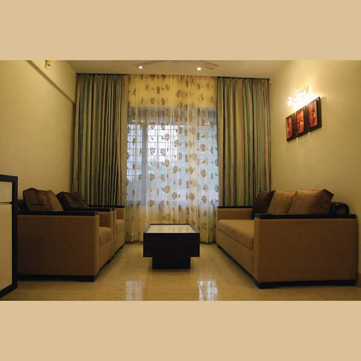 A Quick Make Over....!!!! Classic style living room by Neha Changwani Classic