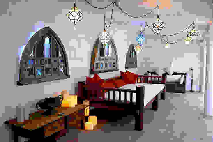 بلكونات وشرفات تنفيذ Decoración Andalusí Iluminación
