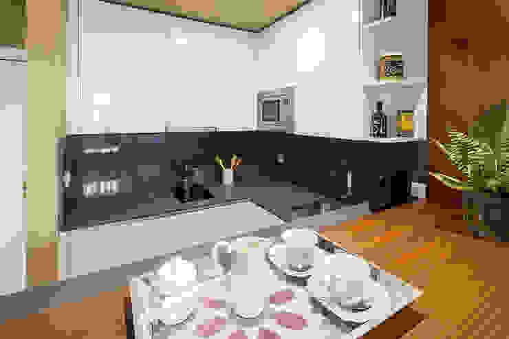 Vista de cocina Cocinas de estilo moderno de Ardes Arquitectos Moderno