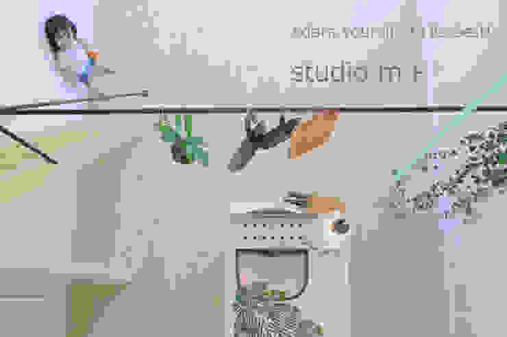 studio m+ by masato fujii Modern Kitchen