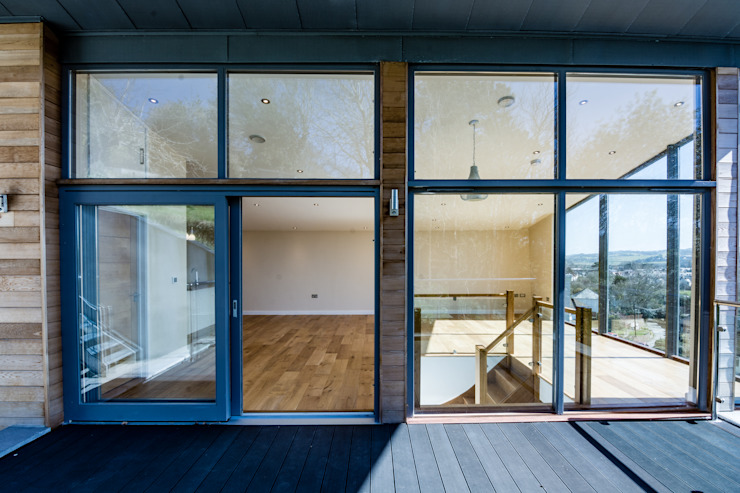 Mallards View, Devon Дома в стиле модерн от Trewin Design Architects Модерн