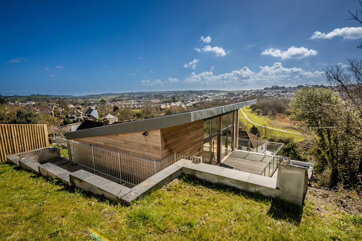 Mallards View, Devon Moderne Häuser von Trewin Design Architects Modern